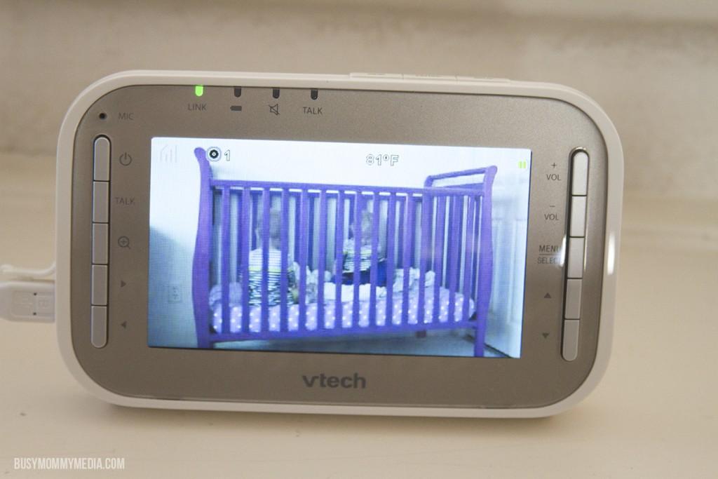 VTech's Safe&Sound® VM343 Expandable Digital Video Baby Monitor