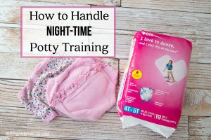 How to Handle Night-Time Potty Training