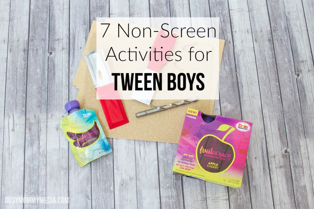 7 Non-Screen Activities for Tween Boys