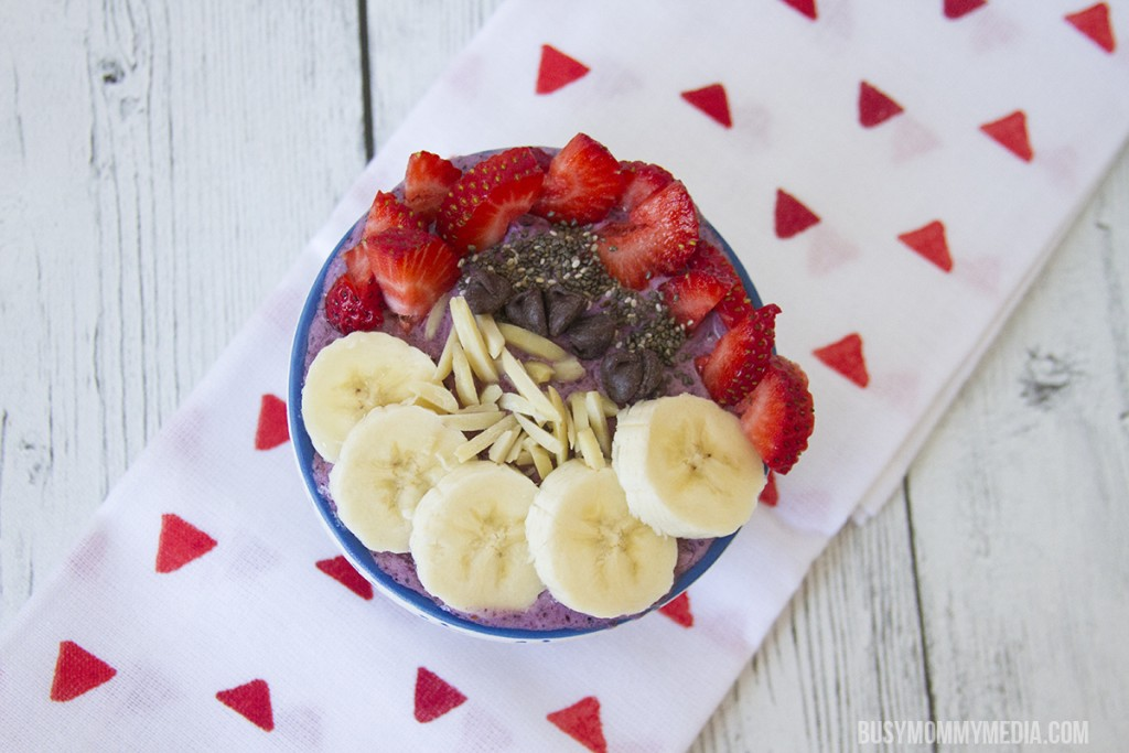 Breakfast Smoothie Bowls for a picky eater