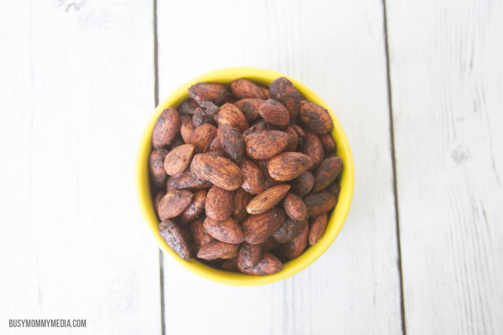 Mexican Chocolate Roasted Almonds