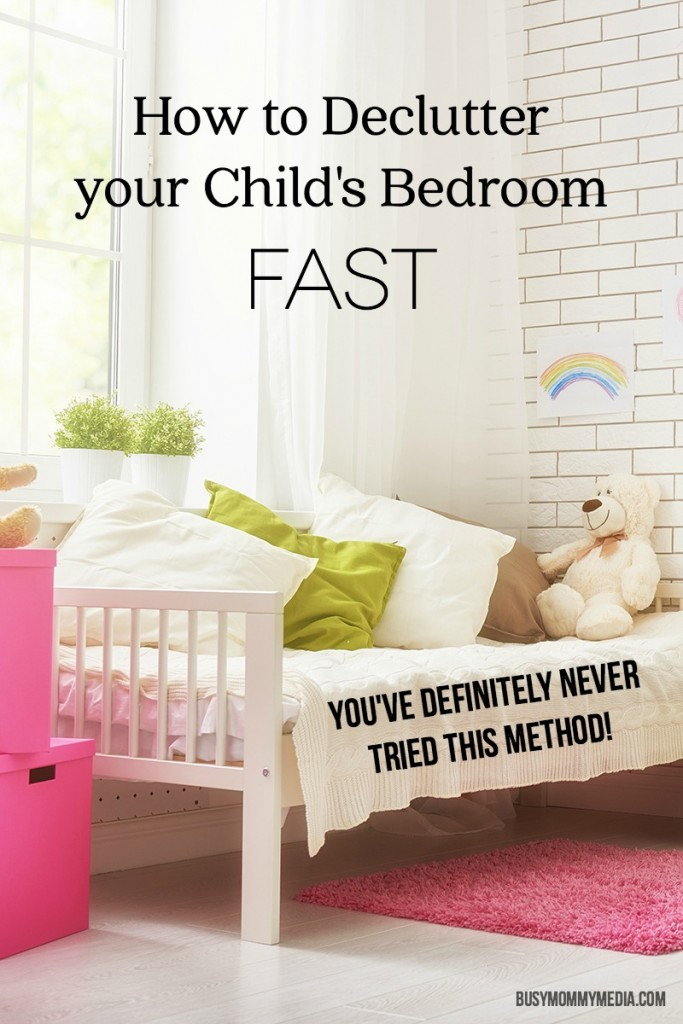 How to Declutter your Child's Bedroom FAST | This is so funny! You've definitely never tried this cleaning method!