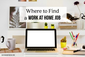 Where to Find a Work at Home Job
