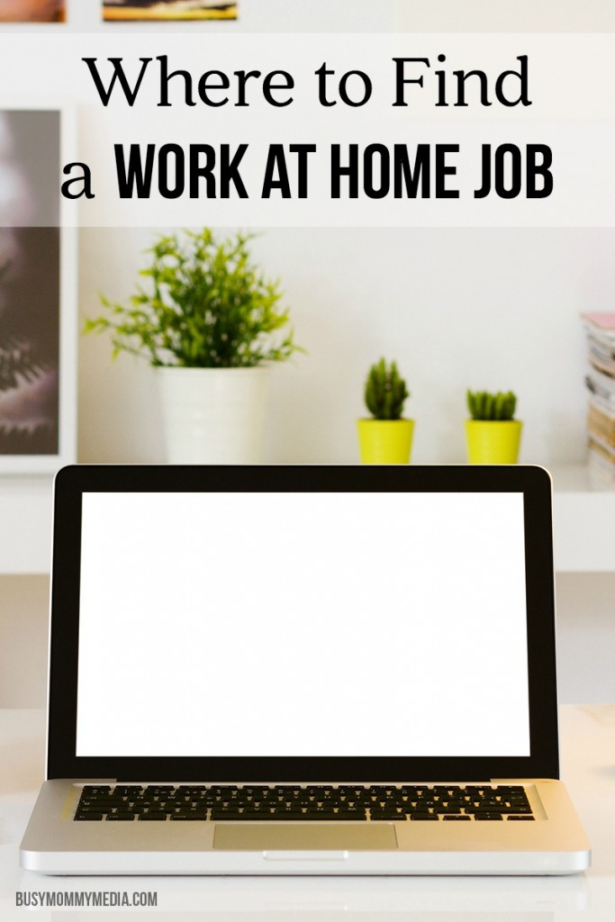 Where to Find a Work at Home Job | Great tips for moms who want to work from home!
