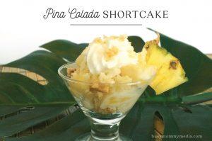 Pina Colada Shortcake