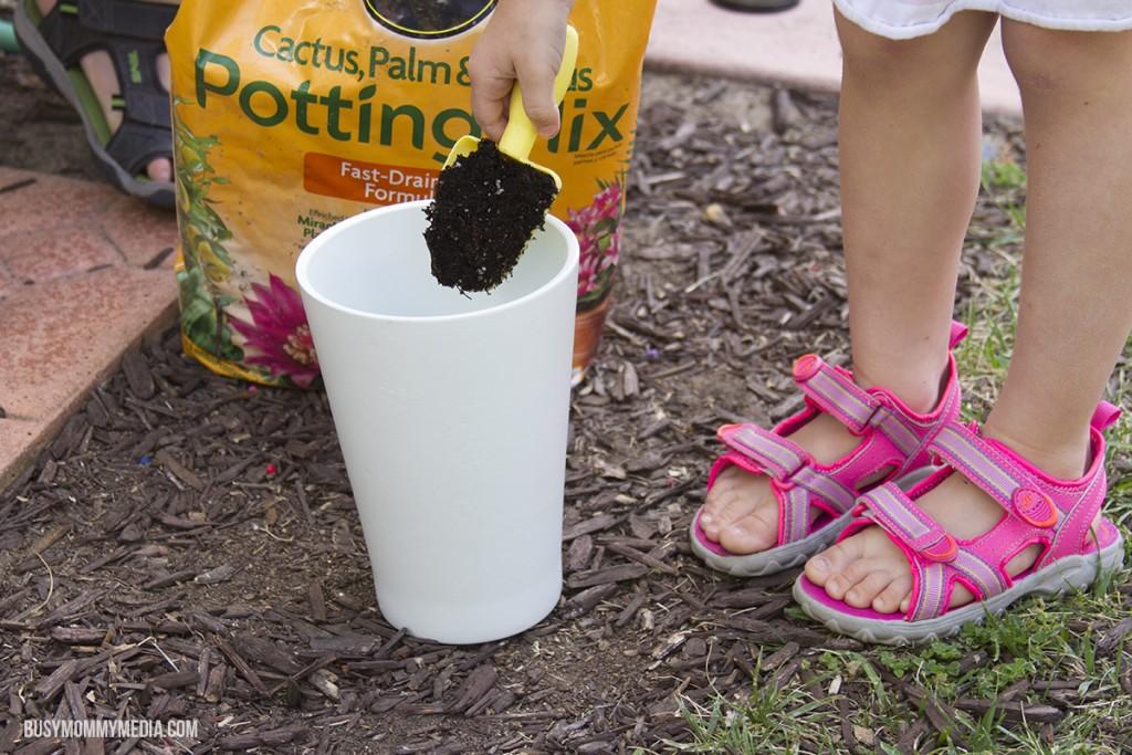 DIY Succulent Planter for Kids
