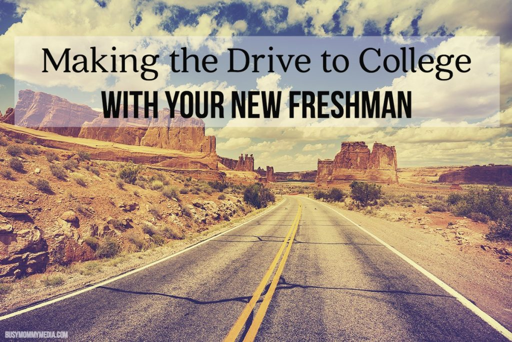 Making the Drive to College with your New Freshman