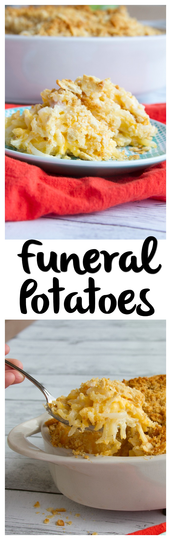 Funeral Potatoes | These are the ultimate summer potluck food! So yummy!!