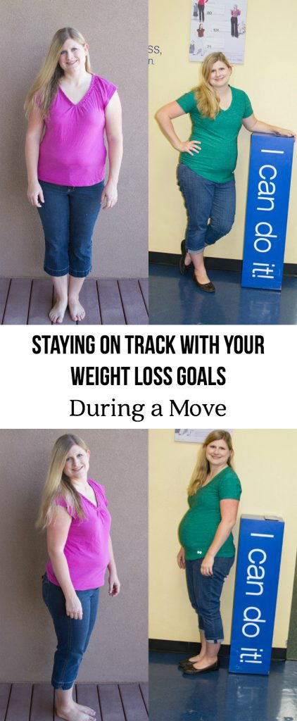 Staying On Track With Your Weight Loss Goals During A Move