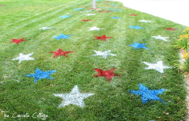 lawn painting