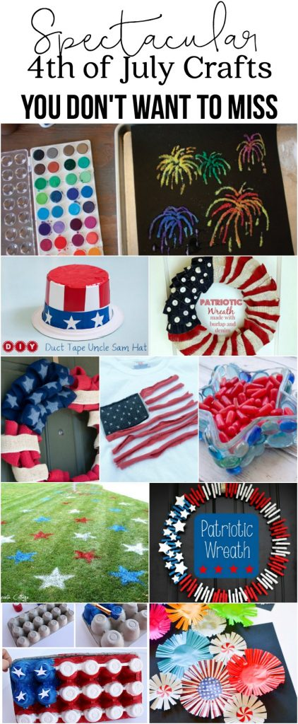 Spectacular 4th of July Crafts you Don't want to miss