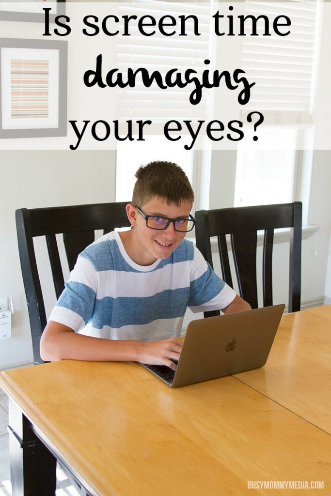Is screen time damaging your eyes?