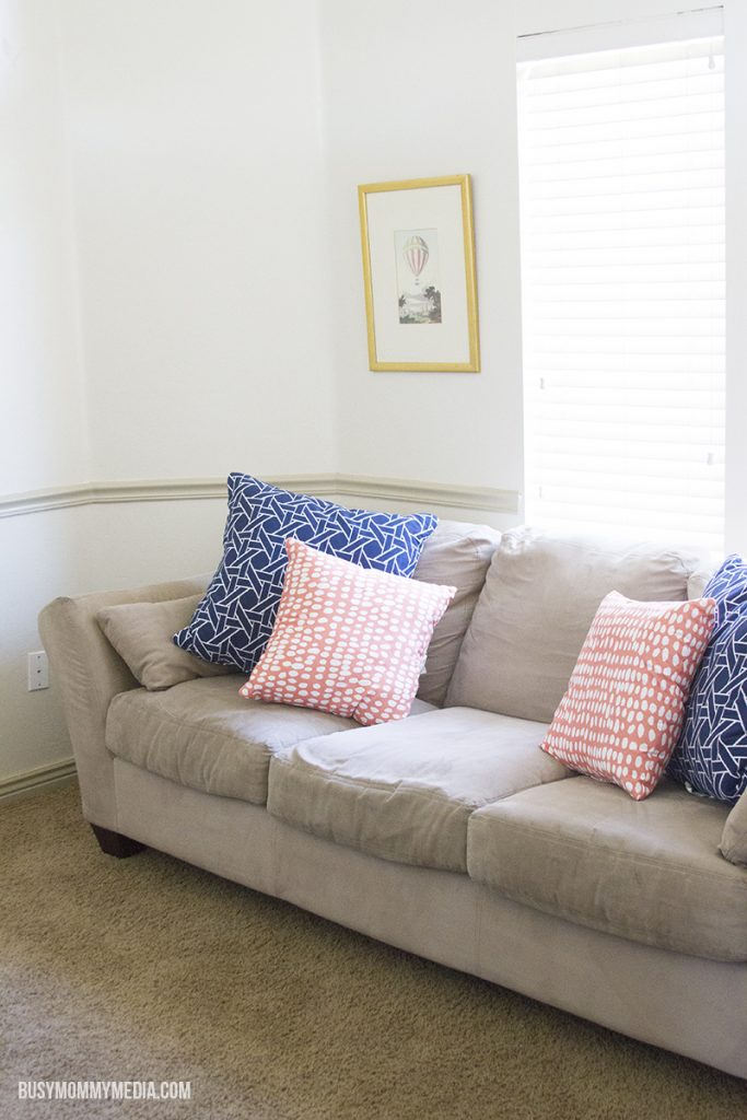 How to freshen up fabric couches