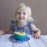 Toddler smoothie bowl