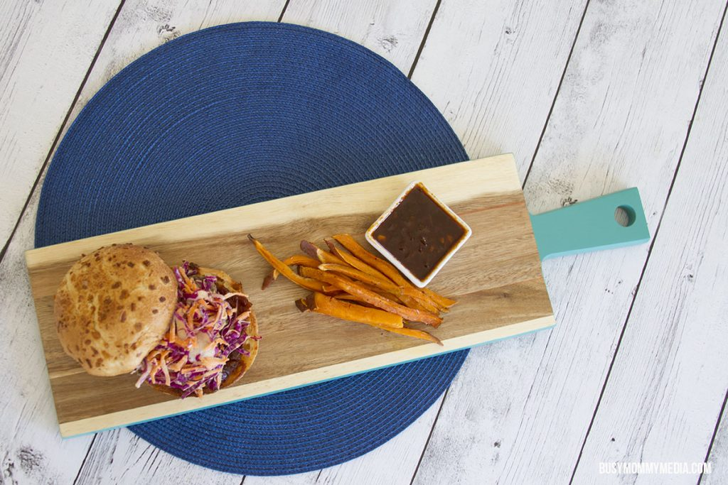 HelloFresh pork burger recipe