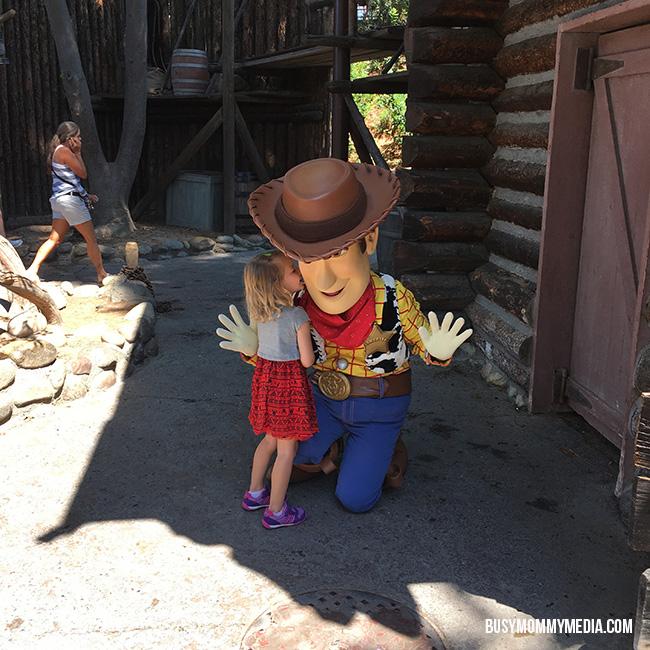 Disneyland Character meet and greet
