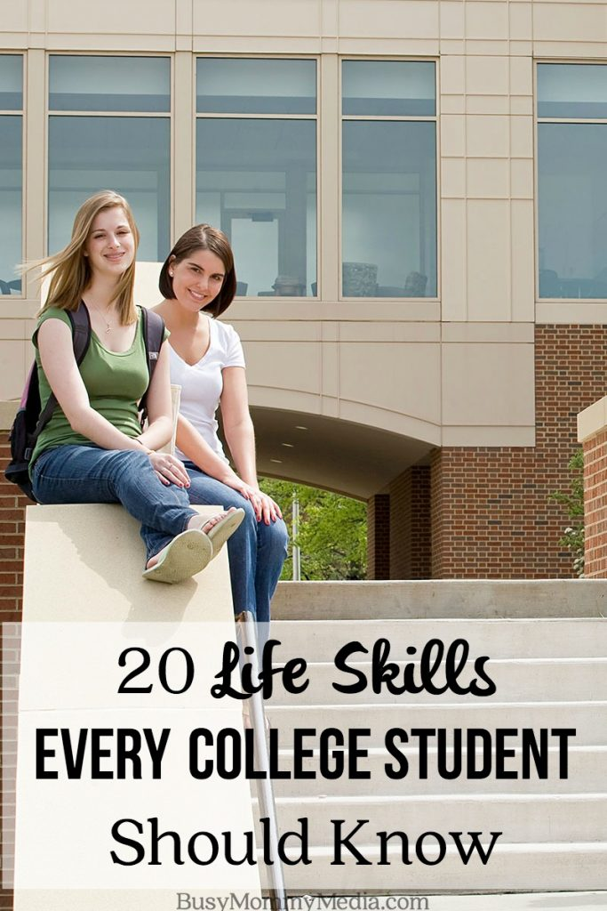 20 Life Skills Every College Student Should Know
