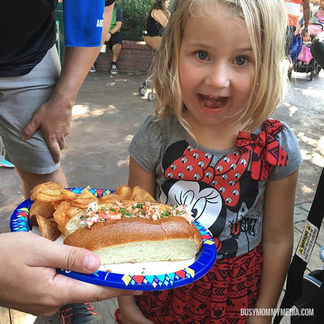 Disneyland Lobster Roll