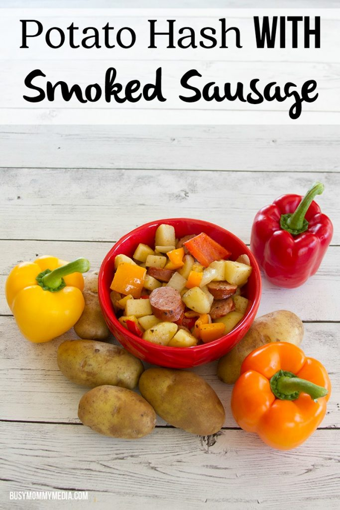 Potato Hash with Smoked Sausage