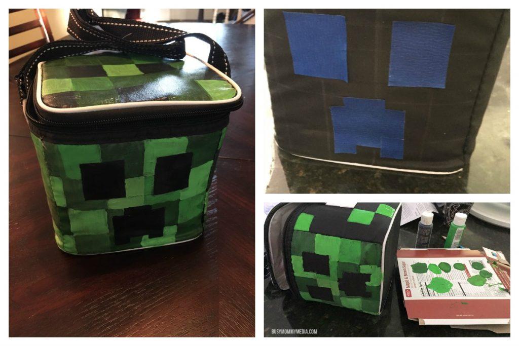 DIY Minecraft Lunch Bag