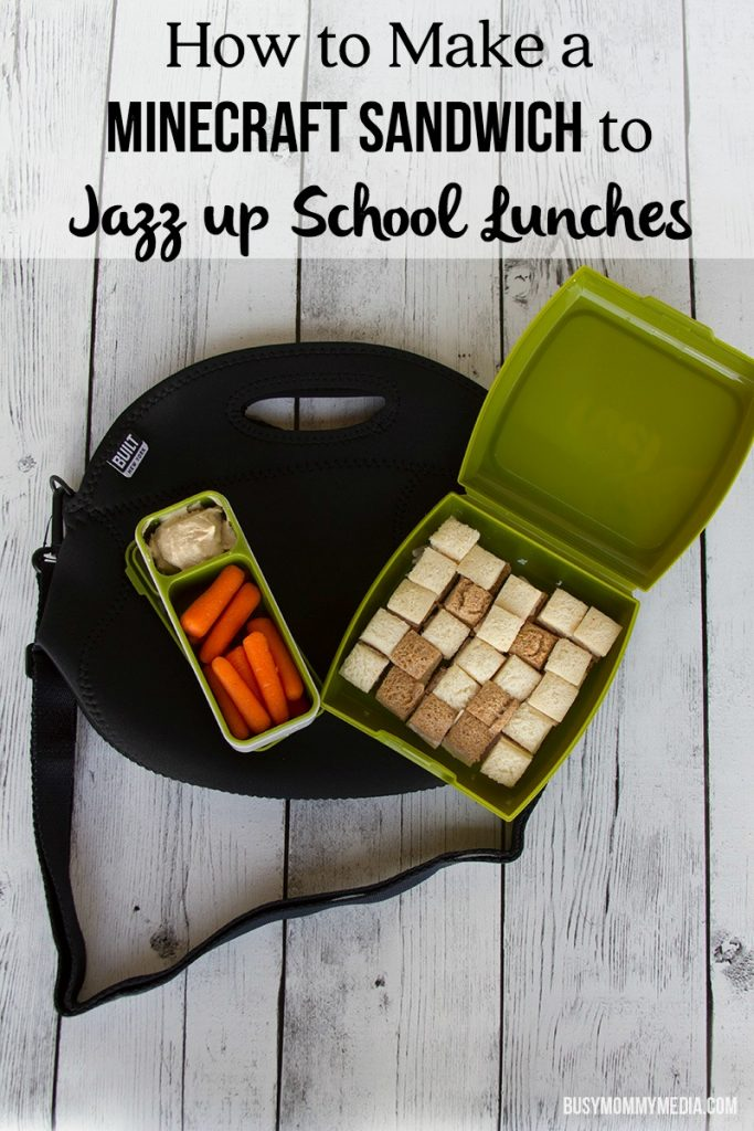How to Make a Minecraft Sandwich to Jazz up School Lunches
