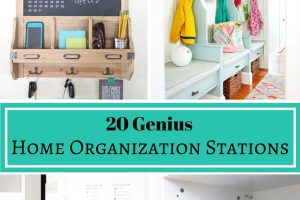 20 Genius Home Organization Stations