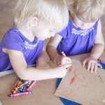 Sandpaper Art for Toddlers
