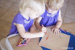 Sandpaper Art for Toddlers