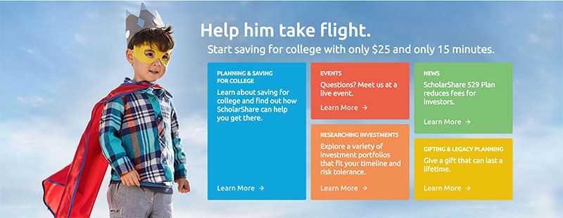 Open a 529 Plan at ScholarShare