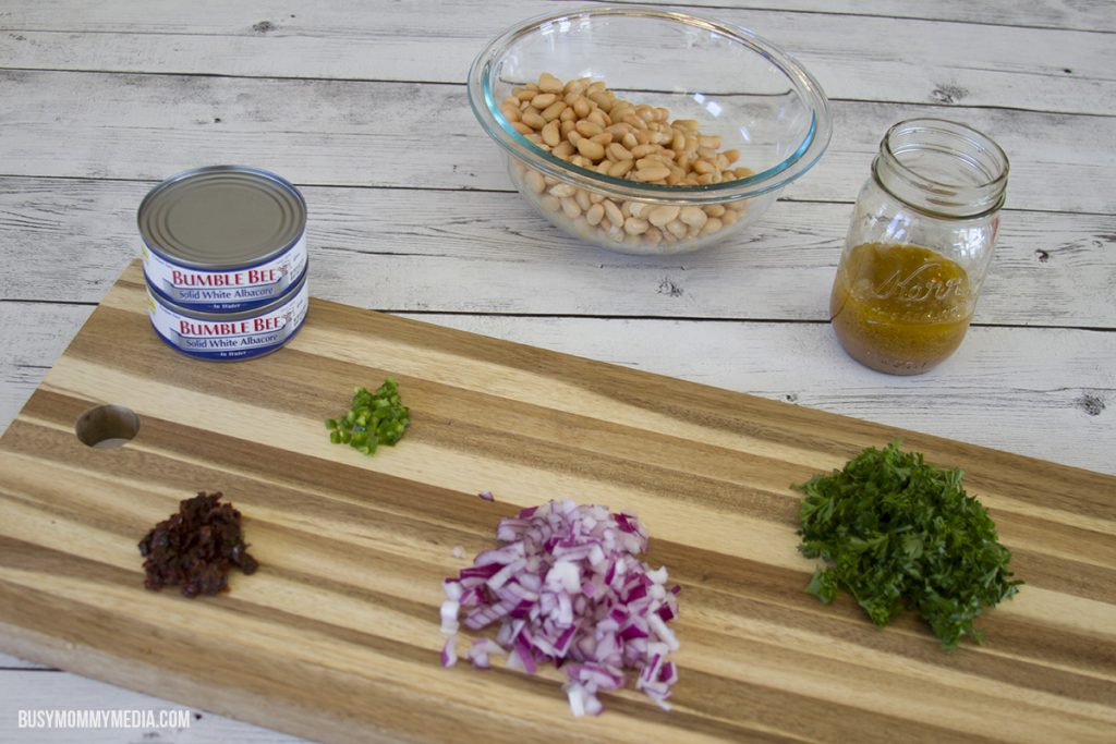 white bean tuna salad ingredients