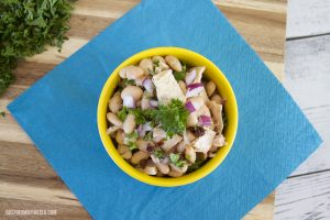 Simple and Light White Bean Tuna Salad