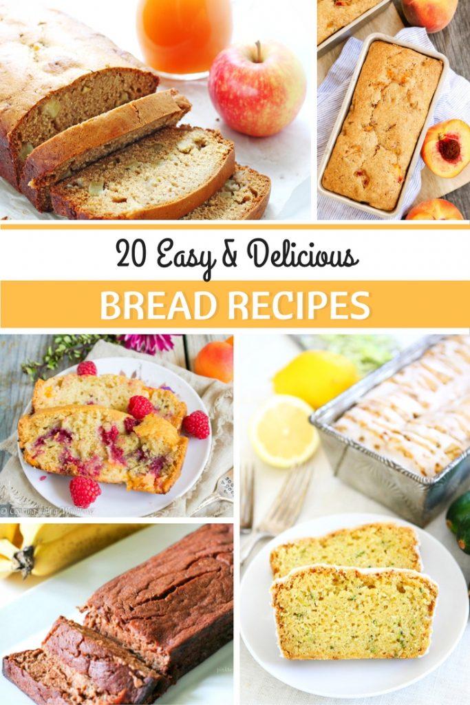 20 Easy & Delicious Bread Recipes