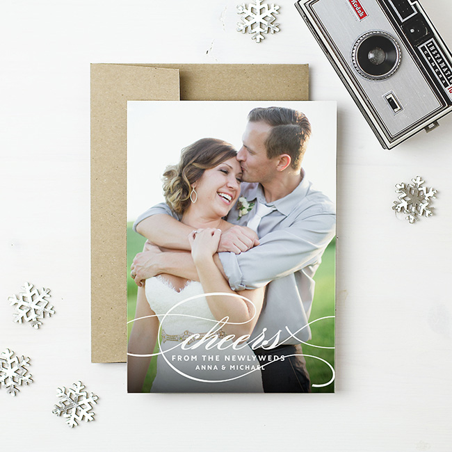 holiday cards from Basic Invite