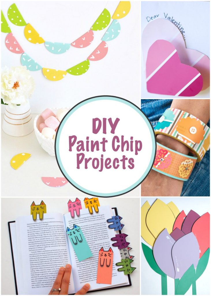 DIY Paint Chip Projects