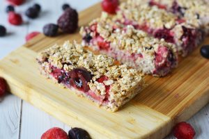 Very Berry Granola Bars (with a Shortcut)