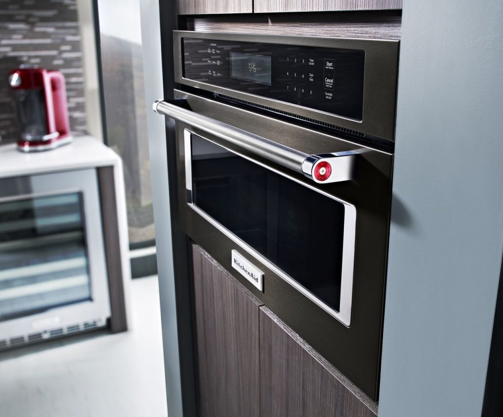 Kitchen Aid Black Stainless