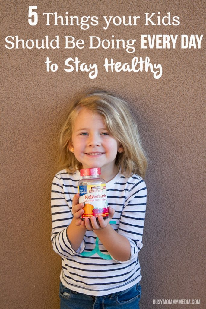 5 Things your Kids Should Be Doing Every Day to Stay Healthy