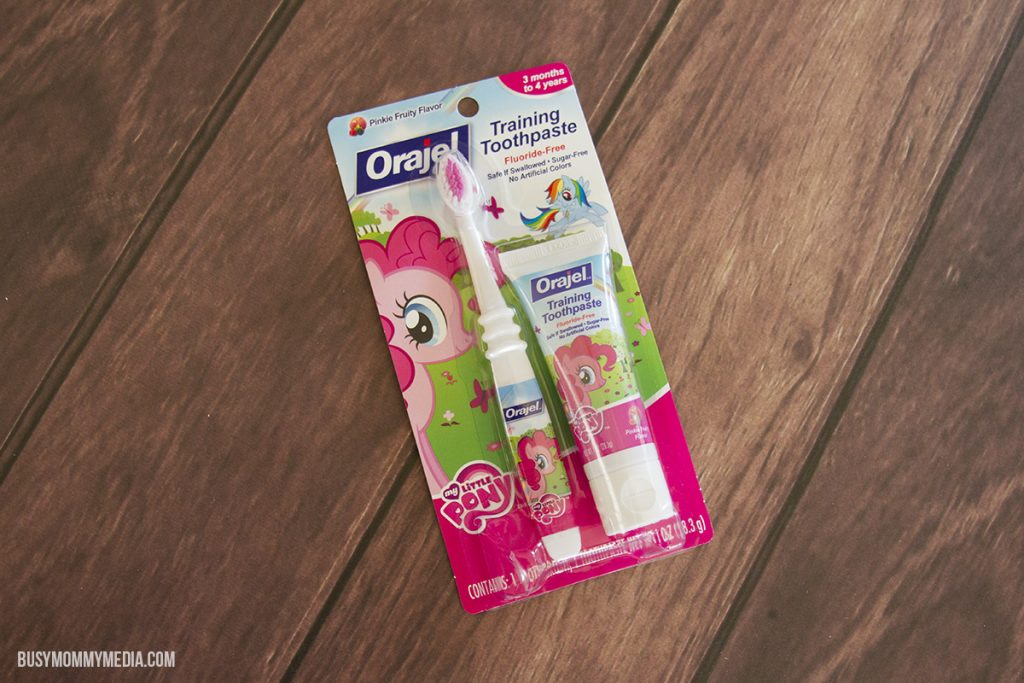 Orajel toddler toothbrush