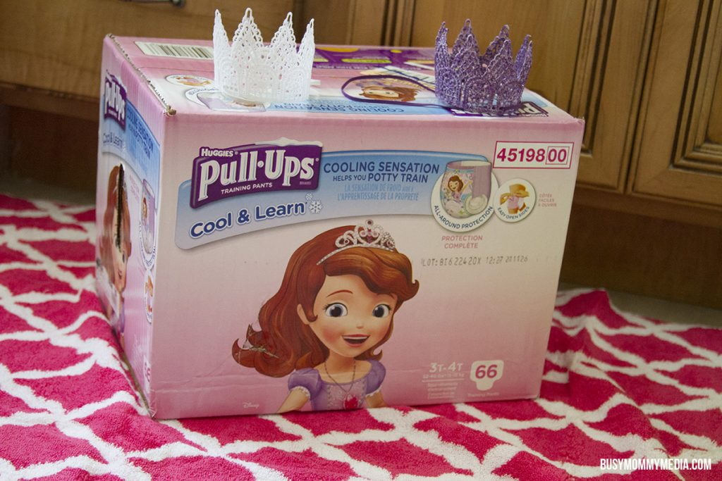 """Pull-Ups® Cool & Learn® Training Pants have a """"Cooling Sensation Helps You Potty Train"""