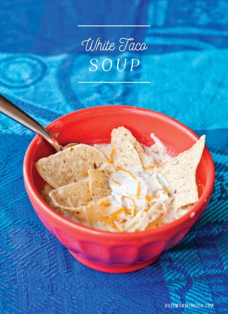 white taco soup