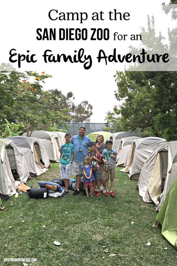 Camp at the San Diego Zoo for an Epic Family Adventure