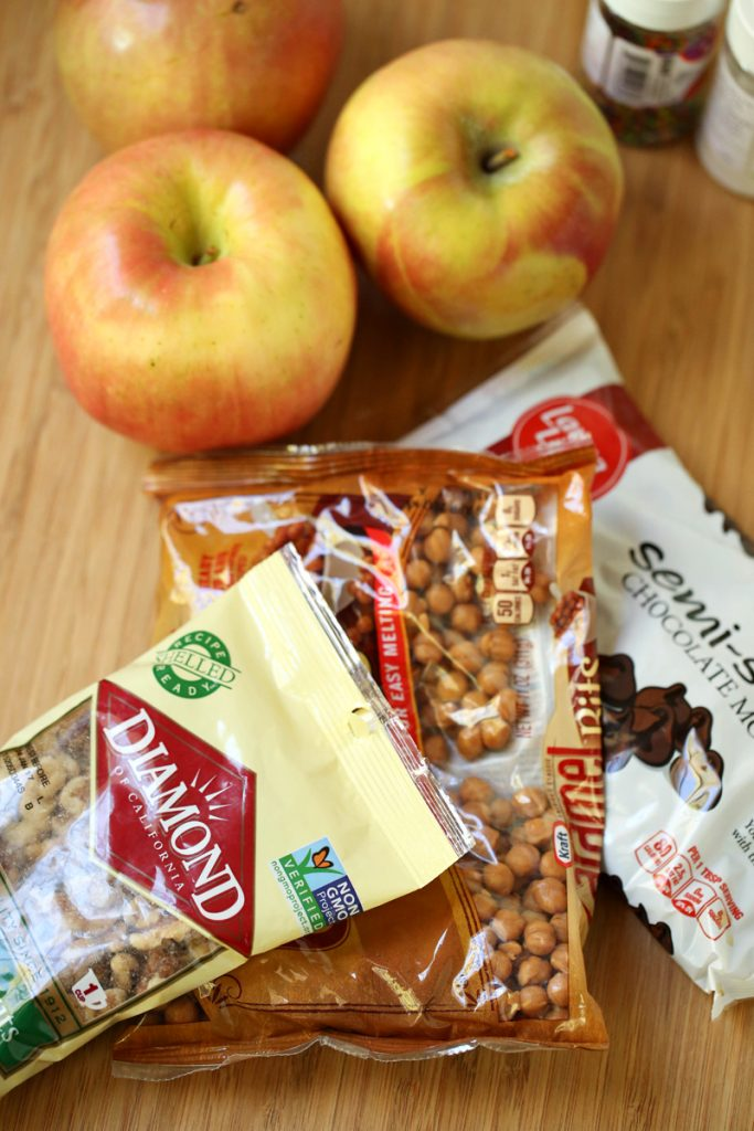 Sliced Caramel Apple Pop Ingredients