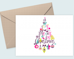 Free Download: Simplify your Holiday with these Printable Christmas Cards