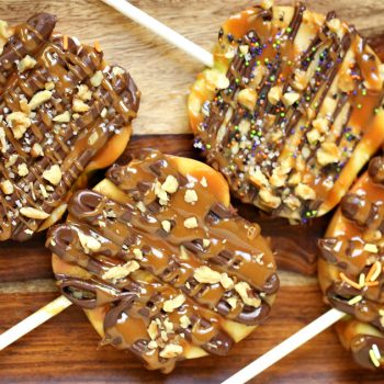 Caramel Apple Slices