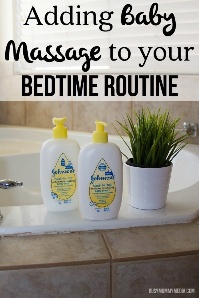 Adding Baby Massage to your Bedtime Routine