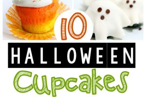 Halloween Cupcakes that your Guests will Howl Over