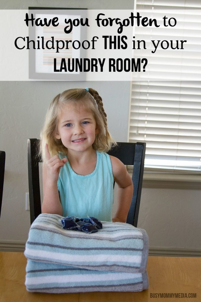 Have you Forgotten to Childproof THIS in your Laundry Room?
