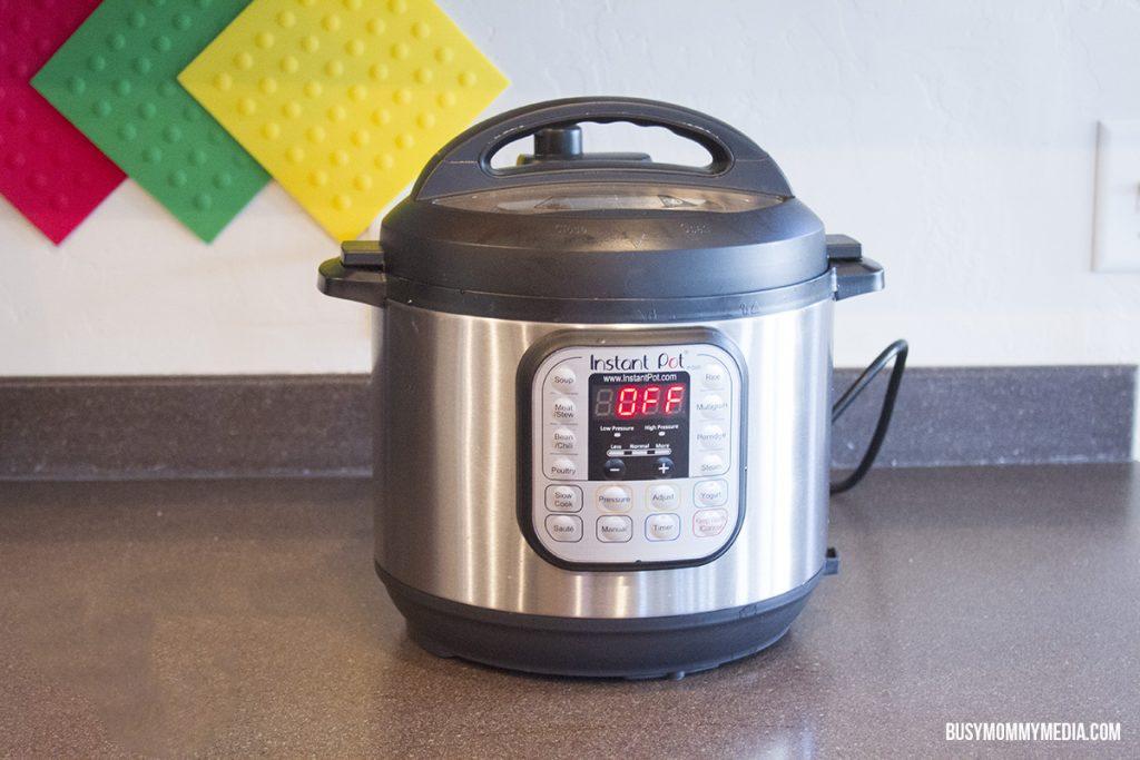 Instant Pot Lentil Beef Stew