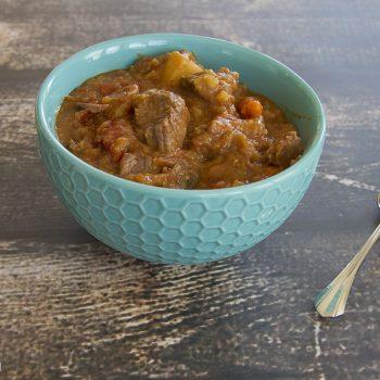 Instant Pot Beef Lentil Stew |