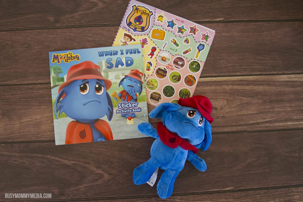 The Moodsters Talking Plush and Activity Book